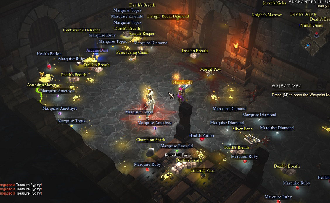 Adding Loot systems, like Diablo 3's, is a great way to randomize a player's progression speed.