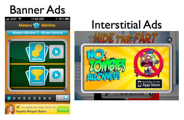 Ads and interstitials will only hurt your chances of getting featured. Stay focused on the experience, not on the money.