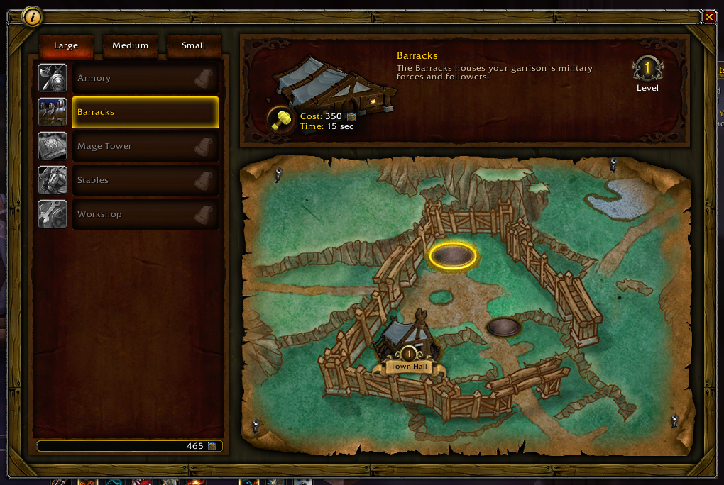 Warlords of Draenor, WoW Expansion, adds a fully featured village building component to the MMO.