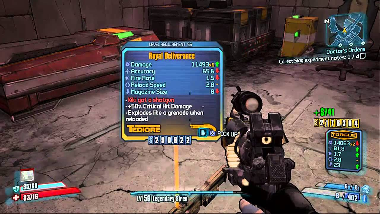 Borderlands proves that a loot drop system can work in other genres beyond RPGs. Progression can be slowed by pushing players to collect better items.