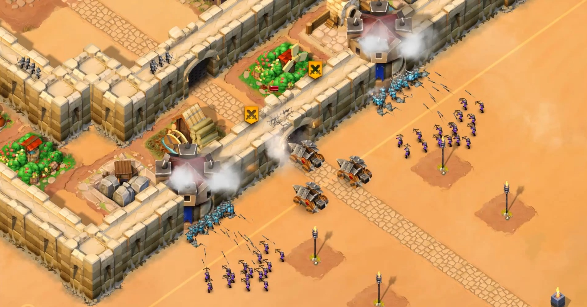 This is Age of Empires Castle Siege. A clear clone of Clash of Clans in a bad attempt to bring F2P to Windows.