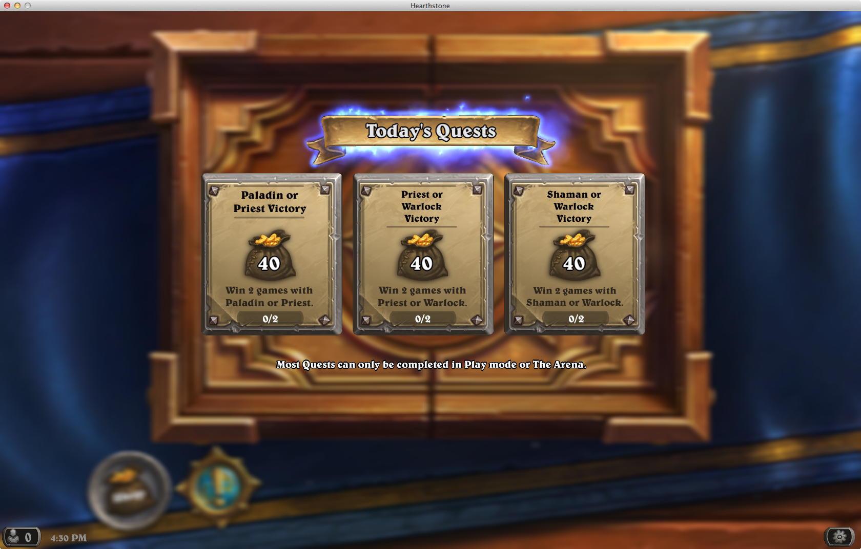 Hearthstone-quests