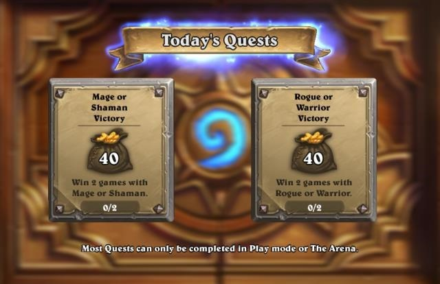 hearthstone-daily-quests