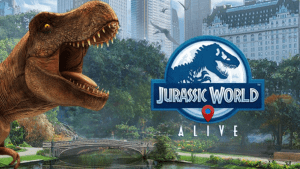 Can Jurassic World Alive stand up to Pokemon Go? - Gaming geo GPS jurassic jurassic park location Location based gaming Pokemon simulation world builder
