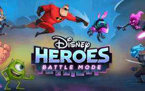 Disney Heroes: Battle Mode icon and logo - battle battler disney heroes